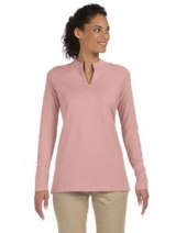 Ladies' Stretch Jersey Long-Sleeve Tunic