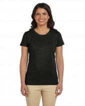 Ladies' 4.4 oz. 100% Organic Cotton Classic Short-Sleeve T-Shirt