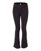 Girls' Cotton Spandex Dance Pants
