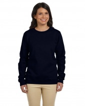 Ladies' Heavy Blend 8 oz. 50/50 Fleece Crew