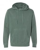 Heavyweight Pigment-Dyed Hooded Sweatshirt
