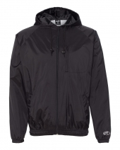 Hooded Full-Zip Wind Jacket