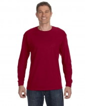 Adult Cotton 5.3 oz. Long-Sleeve T-Shirt