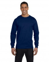 Adult DryBlend® 5.6 oz. 50/50 Long-Sleeve T-Shirt