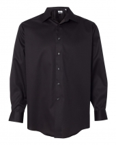 Non-Iron Micro Pincord Long Sleeve Shirt