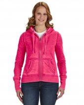 Ladies' Zen Full-Zip Fleece Hood