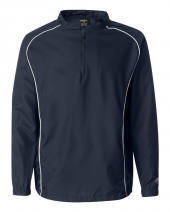 Poly Dobby Quarter-Zip Pullover
