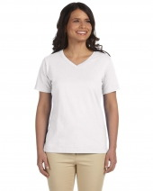 Ladies' V-Neck Premium Jersey T-Shirt