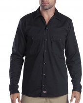 6 oz. Industrial Long-Sleeve Cotton Work Shirt