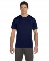 Men's Short-Sleeve Interlock Pieced T-Shirt