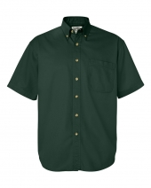Short Sleeve Cotton Twill Shirt
