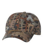 Structured Oilfield Camo Cap