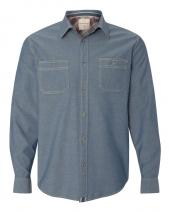 Vintage Chambray Long Sleeve Shirt
