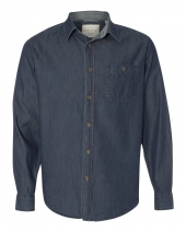 Vintage Denim Long Sleeve Shirt