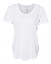 Women's At Ease Scoop Neck Short Sleeve T-Shirt