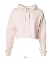 Women's Lightweight Cropped Hooded Sweatshirt
