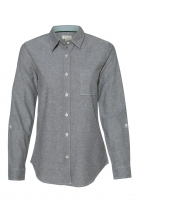 Women's Vintage Stretch Brushed Oxford Shirt