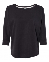 Women's Lounge Fleece Dolman Crewneck Sweatshirt