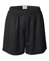 "Women's Pro Mesh 5"" Shorts with Solid Liner"