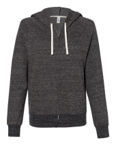 Women's Snow Heather French Terry Full-Zip Hood Sweatshirt