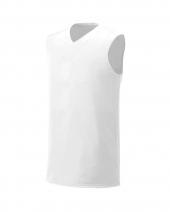 Youth Moisture Management V Neck Muscle Shirt