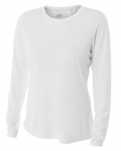 Ladies' Long Sleeve Cooling Performance Crew Shirt