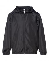 Youth Lightweight Windbreaker Zip Jacket