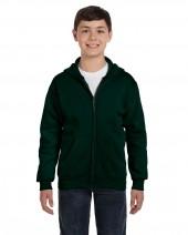 Youth 7.8 oz. EcoSmart® 50/50 Full-Zip Hood