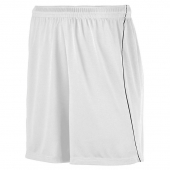 Youth Wicking Soccer Shorts With Piping