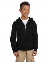 Youth Eco 9 oz. 50/50 Full-Zip Hood