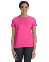 Ladies' 4.5 oz. 100% Ringspun Cotton Nano-T T-Shirt