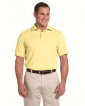 Men's Combed Cotton Pique Polo