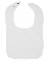 Infant Contrast Trim Terry Bib