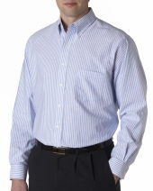 Men's Long-Sleeve Wrinkle-Resistant Oxford