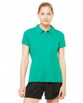 Ladies' Performance Three-Button Polo