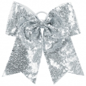 Sequin Cheer Hair Bow
