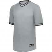 Retro V-Neck Baseball Jersey