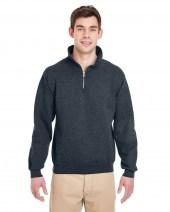 Adult 9.5 oz. Super Sweats® NuBlend® Fleece Quarter-Zip Pullover