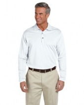Men's EZ Tech Long-Sleeve Polo