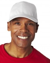 Adult Classic Cut Cotton Twill 6-Panel Cap