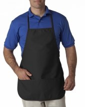 Large Two-Pocket Apron