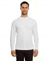 Adult Cool & Dry Sport Long-Sleeve Performance Interlock T-Shirt