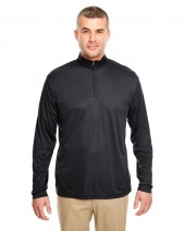 Men's Cool & Dry Sport Performance Interlock Quarter-Zip Pullover