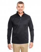 Adult Cool & Dry Sport Quarter-Zip Pullover Fleece