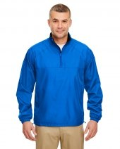 Adult Micro-Poly Quarter-Zip Windshirt