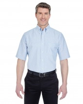 Men's Classic Wrinkle-Resistant Short-Sleeve Oxford
