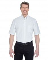 Men's Classic Wrinkle-Resistant Short-Sleeve Oxford