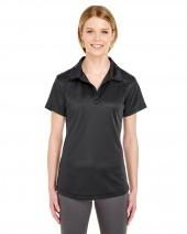 Ladies' Cool & Dry Jacquard Stripe Polo