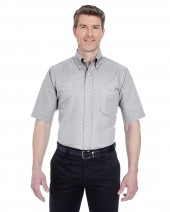 Men's Tall Classic Wrinkle-Resistant Short-Sleeve Oxford
