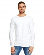 Adult Lightweight Long & Lean Raglan Long Sleeve T-Shirt